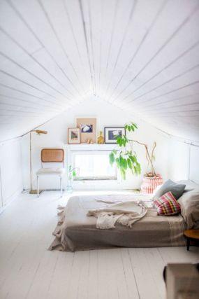 Low Ceiling Attic Bedroom Ideas