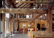 Pole Barn Home's Interior
