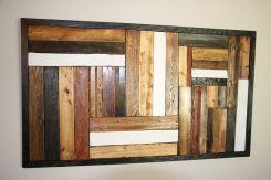 Wood Pallet Wall Art Designs