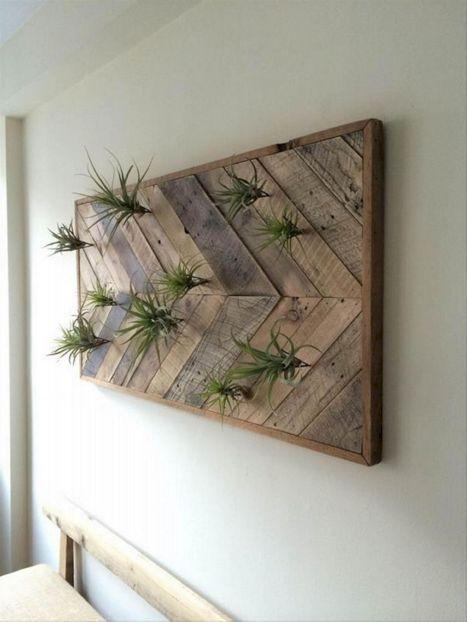 Wood Pallet Wall Art Ideas