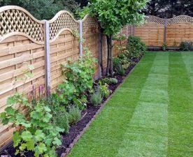 Wooden Garden Fencing Ideas