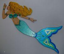 Wooden Mermaid Decors