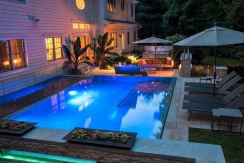 Back Yard Swimming Pool Design Idea