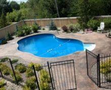 Back Yard Swimming Pool Design