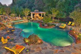 Back Yard Swimming Pool Idea