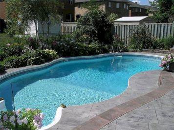 Back Yard Swimming Pools Design