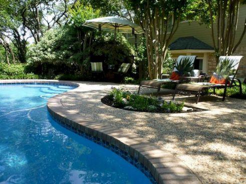 Backyard Pool Landscaping Idea