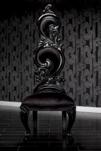 Baroque High Back Chair
