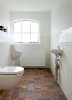 Bathroom With Terracotta Tile