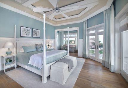 Blue Bedroom Interior Design Ideas