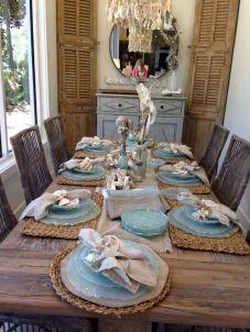 Dining Idea Room Rustic Beach Decor