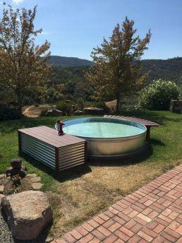 Galvanized Stock Tank Swimming Pools Design
