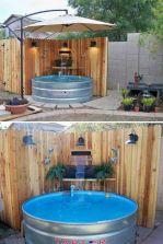 Galvanized Stock Tank Swimming Pools Ideas