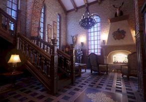 Gothic Home Interior Design
