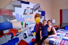 LEGO Wall Murals Bedroom