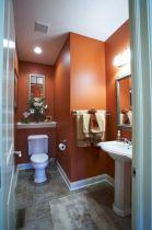 Orange Bathroom Paint Color Ideas