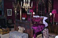 Purple Gothic Bedroom Ideas