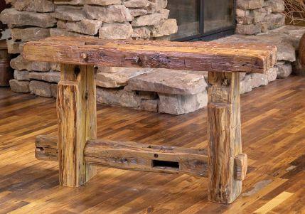 Rustic Reclaimed Barn Wood Furniture