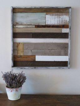 Rustic Reclaimed Wood Art
