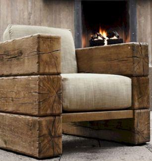 Rustic Wood Furniture Idea