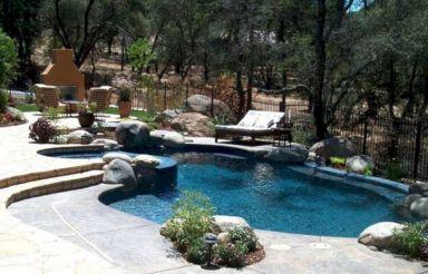 Small Backyard Inground Swimming Pool Design