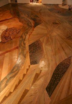 unique hardwood floor design ideas - Wood Floor Design Ideas