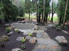 Woodland Garden Landscape Design Idea