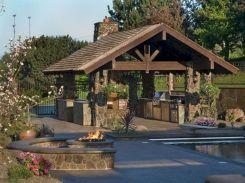 Backyard Living Space Design Ideas 22