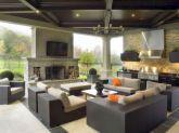 Backyard Living Space Design Ideas 33
