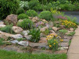 Gorgeous Rock Garden Ideas 13