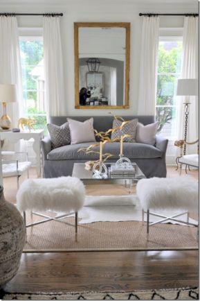Living Room Rug Layering 116