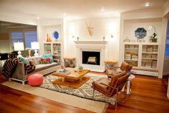 Living Room Rug Layering 117