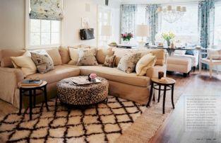 Living Room Rug Layering 120