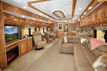 Luxurious RVs Interior 127