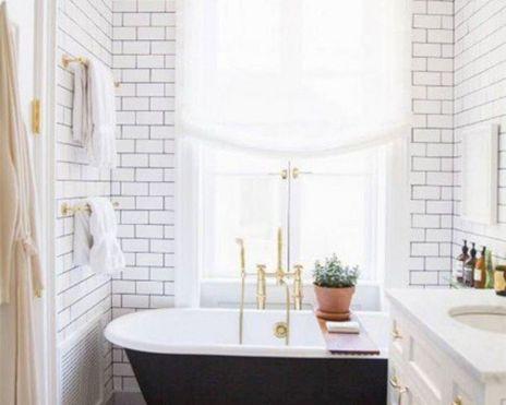 Modern Vintage Bathroom Ideas 11