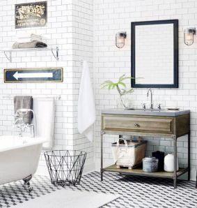 Modern Vintage Bathroom Ideas 12