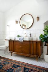 Modern Vintage Bathroom Ideas 9