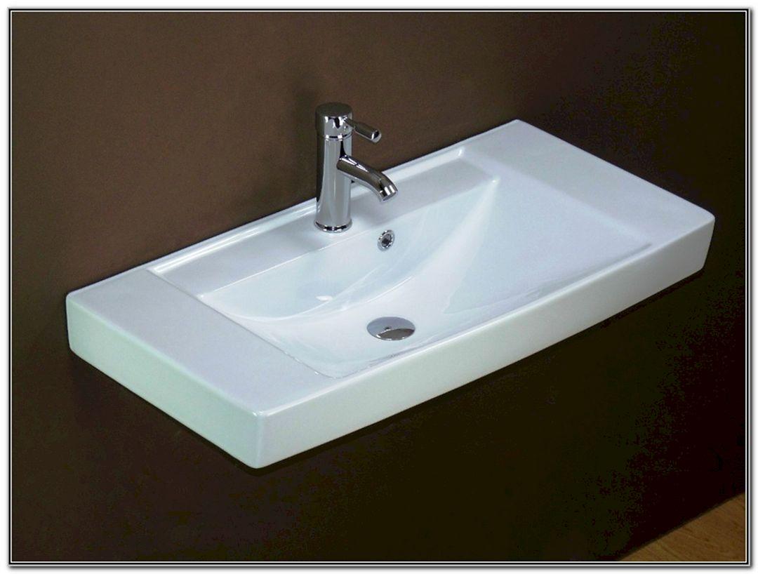 Small Bathroom Flat Sink Ideas 10
