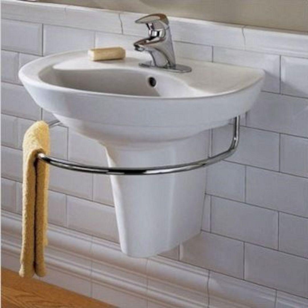 Small Bathroom Flat Sink Ideas 18
