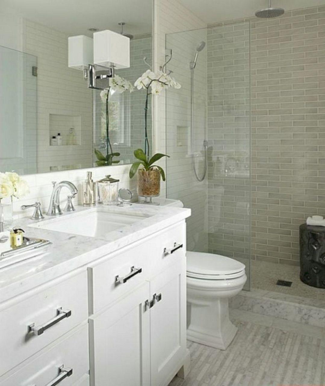 Small Bathroom Flat Sink Ideas 26