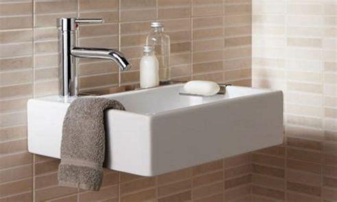 Small Bathroom Flat Sink Ideas 6