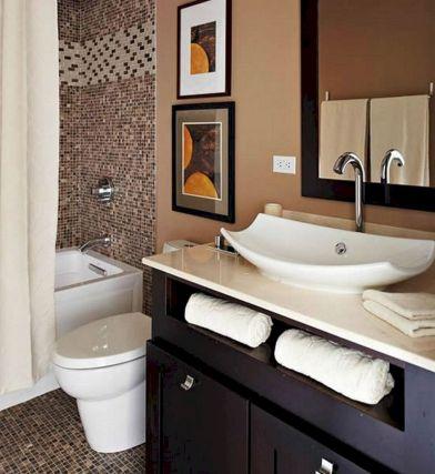 Small Bathroom Flat Sink Ideas 8