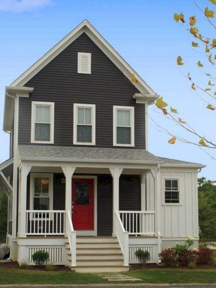 Exterior House Paint Color Schemes 20