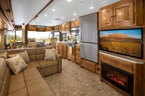 Luxurious Motorhomes Interior Design 6