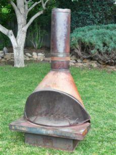 Mid Century Modern Outdoor Fireplace 2