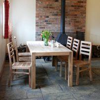 Modern Farmhouse Kitchen Tables 13