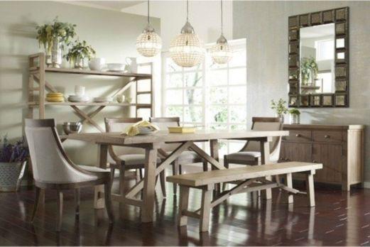Modern Farmhouse Kitchen Tables 23