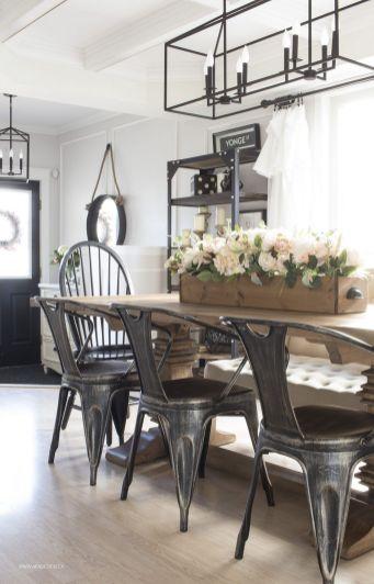 Modern Farmhouse Kitchen Tables 25