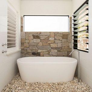 Natural Bathroom Tile Ideas 10
