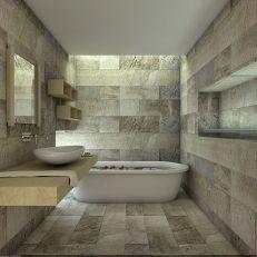 Natural Bathroom Tile Ideas 13